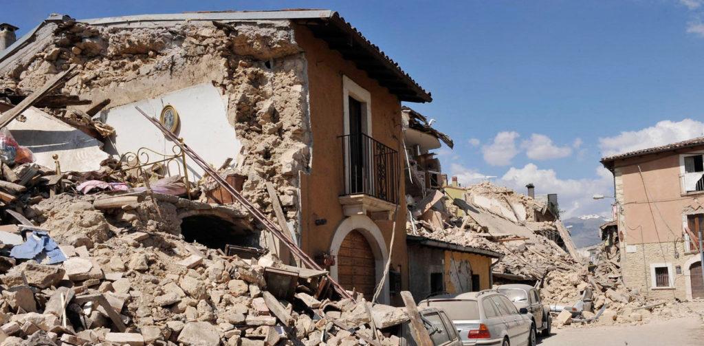 Earthquake Strikes Central Italy